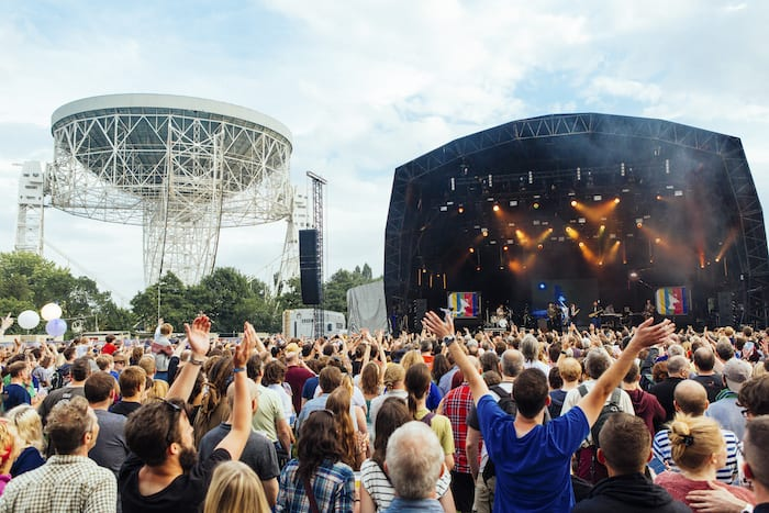 Music meets science at Jodrell Bank for bluedot 2017 I Love Manchester