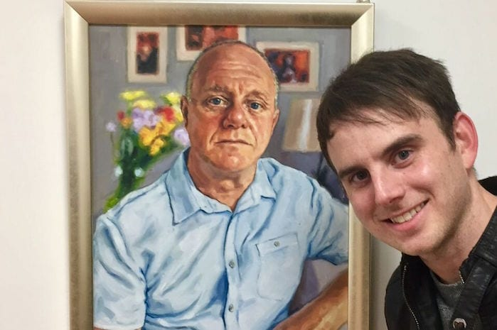 New art space opens in Northern Quarter with Sky Arts Portrait of the Year contenders I Love Manchester