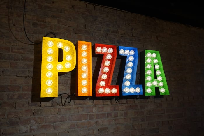 3d0329c64 Enzo Pizza sign | I Love Manchester (MCR)