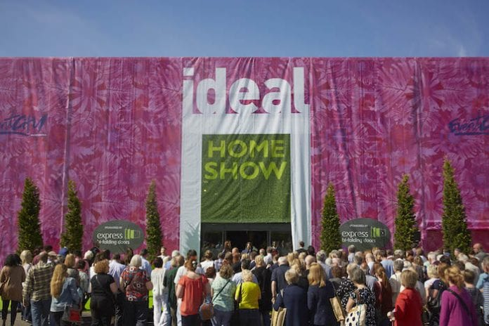 the ideal homes show springs back to manchester with 500 free