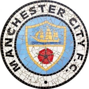 Man City Mosaic I Love Manchester