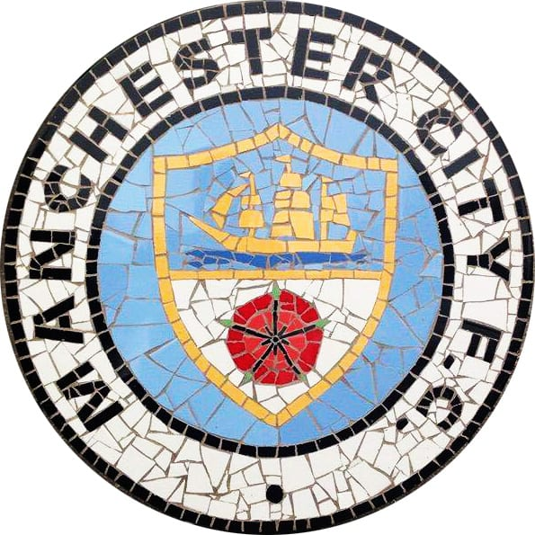 Man City Mosaic I Love Manchester