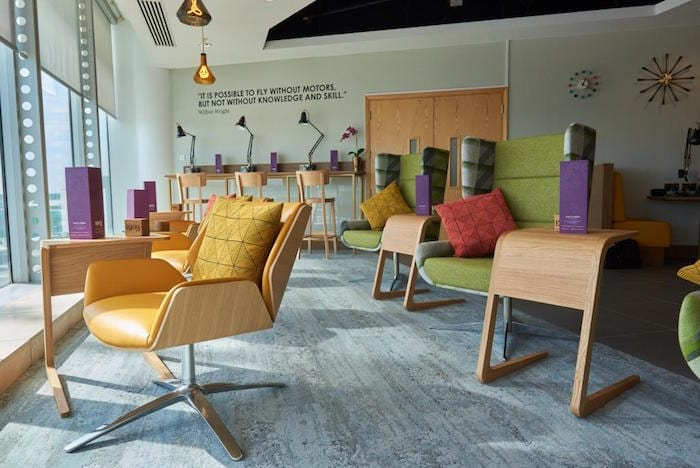 New luxury ADULTS-ONLY lounge with FREE food and drink opens at Manchester Airport I Love Manchester