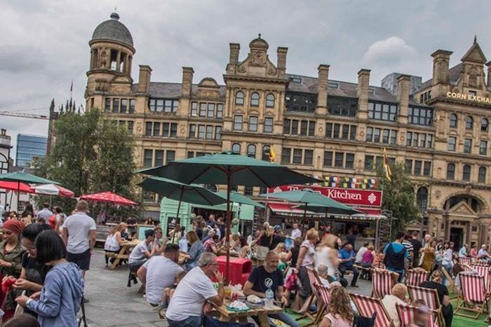 Light and shade: why Corn Exchange is the perfect place for stylish alfresco drinking and dining I Love Manchester