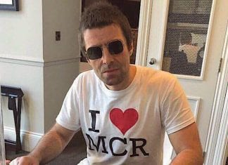 Liam Gallagher loves Manchester