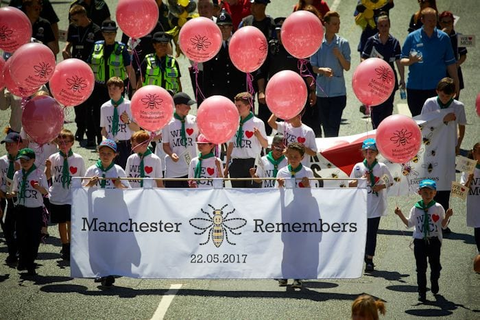 Thousands line city centre streets to enjoy a magical Manchester Day 2017 I Love Manchester