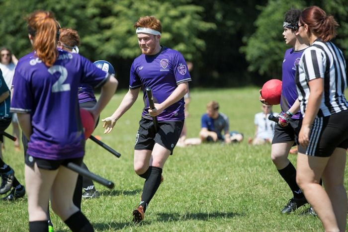Calling all Harry Potter fans: quidditch is coming to Manchester I Love Manchester