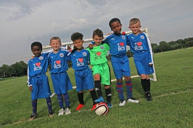 I Love MCR sponsors Fletcher Moss Rangers FC - the unofficial Man Utd academy I Love Manchester