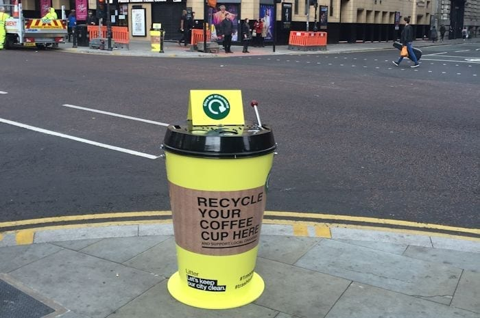 Manchester leads the way in coffee cup recycling I Love Manchester