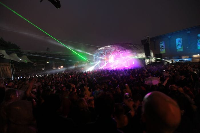 Hacienda at Castlefield Bowl: when acid house meets classical I Love Manchester