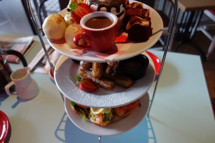 One of Manchester's favourite eateries launches probably the dirtiest afternoon tea in town I Love Manchester
