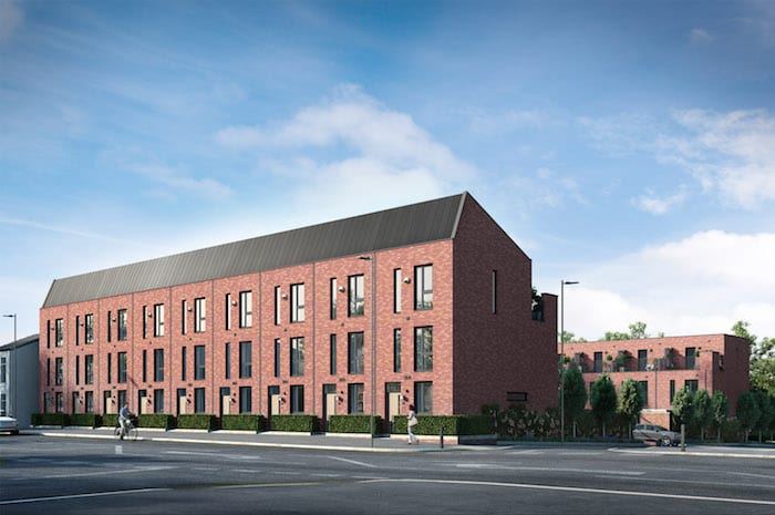 Luxury townhouses prove a hit with househunters I Love Manchester