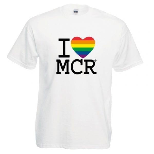 I Love MCR® Pride T-Shirt I Love Manchester