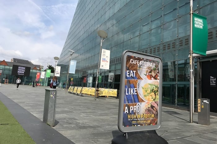 Eat like a pro at Cafe Football at the National Football Museum I Love Manchester