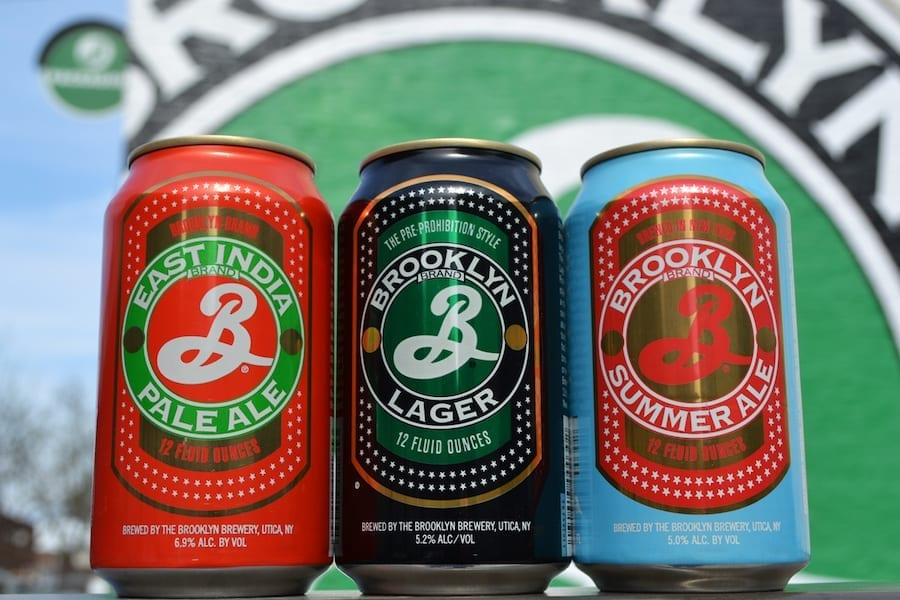 Brooklyn Brewery Craft Beer cans Manchester The Shop Party