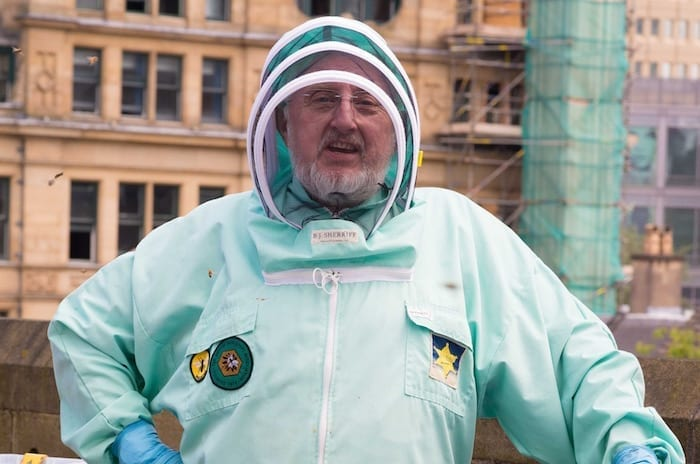On a wing and a prayer: Manchester Cathedral launches bee cam I Love Manchester