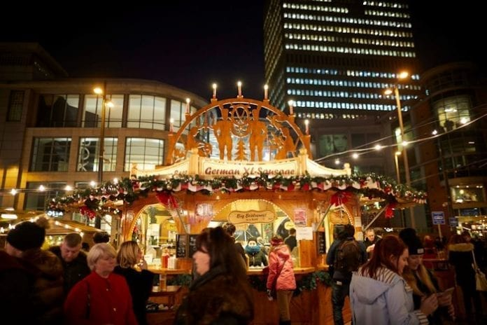 It's official! Manchester's Christmas markets are the best in the UK