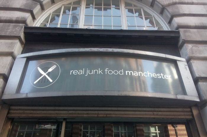 Feed bellies not bins: Real Junk Food restaurant opens in Manchester I Love Manchester