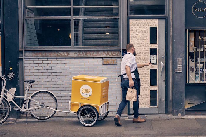 Want a healthy alternative to boring sandwiches? Meet Manchester's very own Sooperman - and his bike I Love Manchester