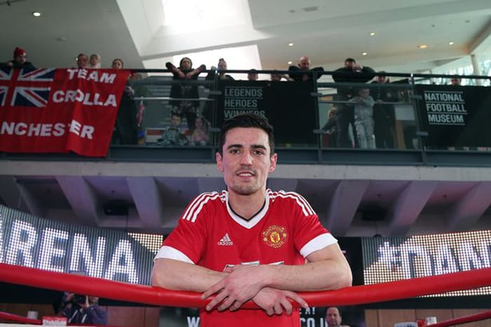 Manchester looks forward to another huge sporting Saturday night I Love Manchester