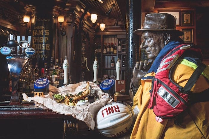 Help save lives by eating fish and chips at Manchester's famous Chop Houses I Love Manchester