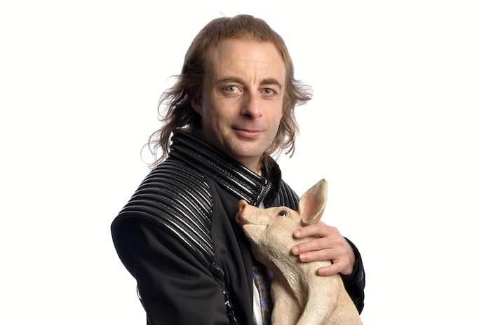 Expect the unexpected: Paul Foot and his pig comes to Sale Waterside I Love Manchester
