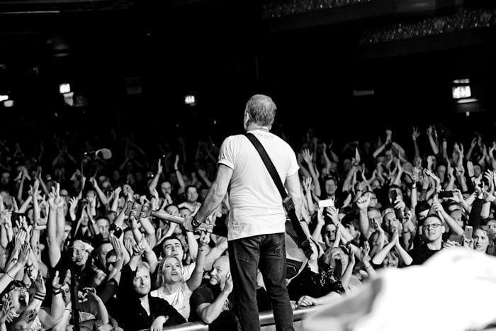 Manchester music legend returns home on last leg of world tour I Love Manchester