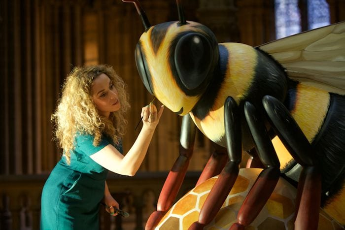 Unbeelievable! Giant bees will be heading to Manchester next summer I Love Manchester