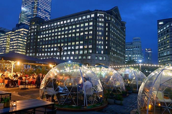Christmas igloos with winter warmer cocktails are coming to Spinningfields I Love Manchester
