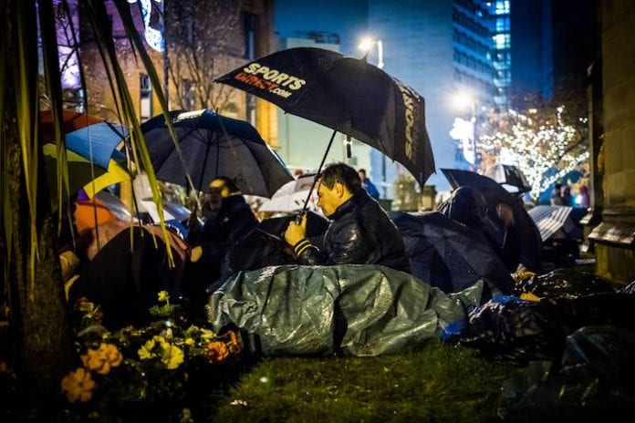 Christmas Helping Homeless.9 Alternative Ways To Help Manchester S Homeless This