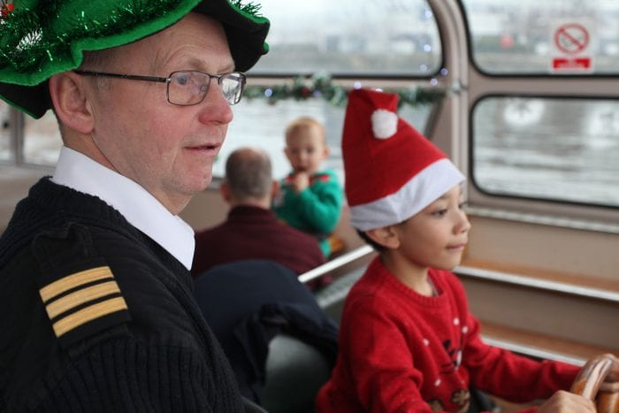 Santa cruises are coming to town serving sherry and festive mince pies I Love Manchester