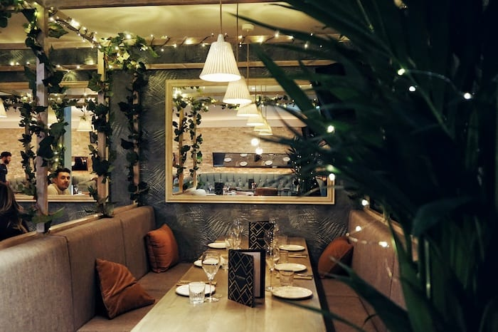 This classy Manchester bar restaurant is serving up cocktail Christmas trees I Love Manchester