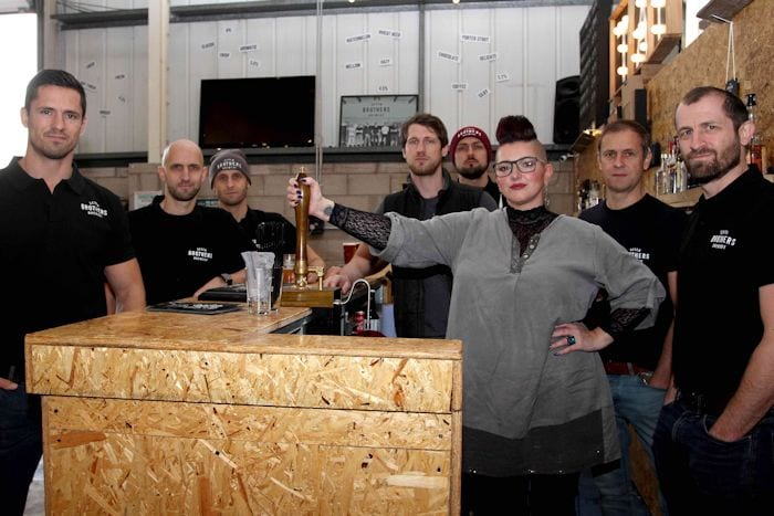 Meet the collaborators behind Manchester's beer-meets-art project Fanny's Passion I Love Manchester