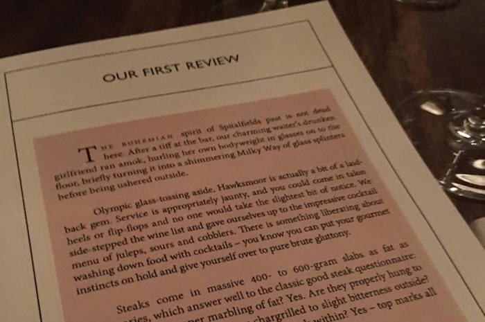 Hawksmoor: you've tried the restaurant, now buy the book I Love Manchester