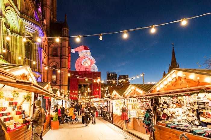 Manchester's world famous Christmas Markets are NOW OPEN! I Love Manchester