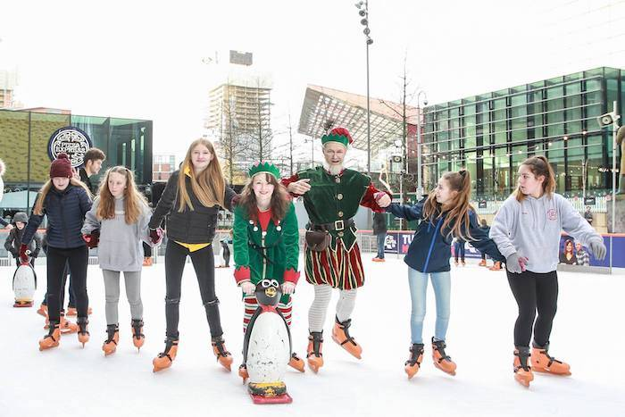 Miracle on First Street: festive food, Christmas drink and a Manchester Ice Rink I Love Manchester