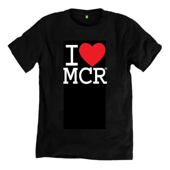 e26f8f4f I Love MCR® T-Shirt (Black) | I Love Manchester (MCR)