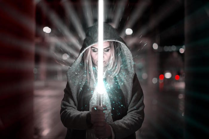 Jedi mania hits Manchester ahead of the launch of latest Star Wars film I Love Manchester