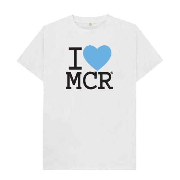 I Love MCR City T-Shirt I Love Manchester