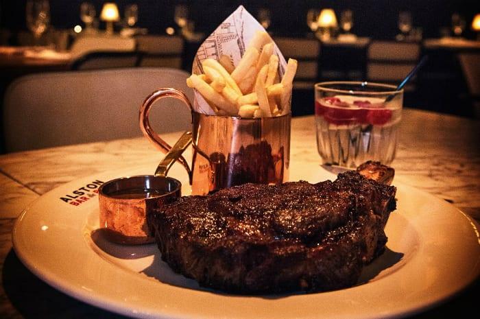 Review: superb steaks and a hidden gin bar at Alston Bar & Beef I Love Manchester