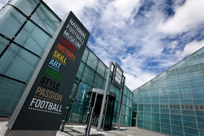 National Football Museum relaunches with the help of 90 local school children I Love Manchester