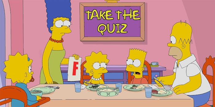 Test your knowledge of The Simpsons at this fun city centre quiz night I Love Manchester