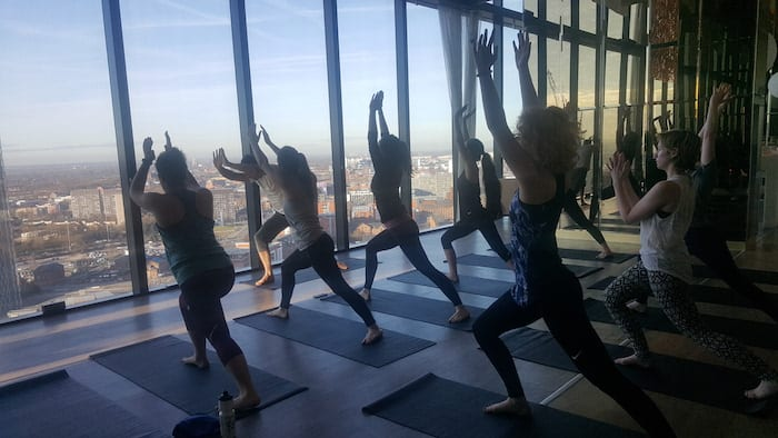 Get your yoga fix with your head in the clouds I Love Manchester