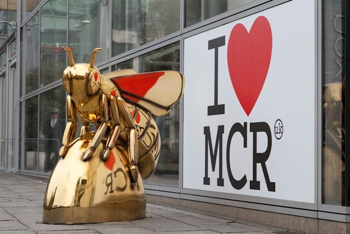 Bee in the City: the bees are here now and they wanna bee adored I Love Manchester