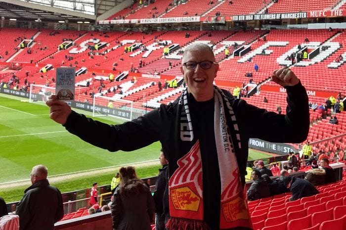 Meet the man who supports his team 3,000 miles from Manchester - and wrote a book about it I Love Manchester
