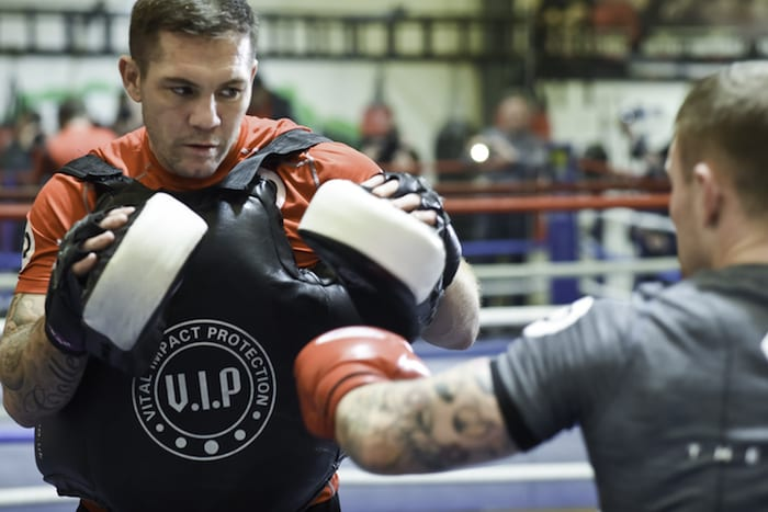 Salford trainer gives former world champ boxer Carl Frampton a new lease of life I Love Manchester