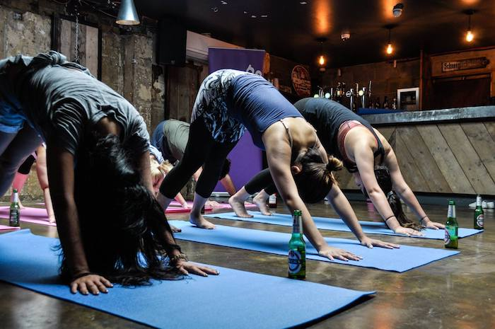 Beer Yoga is coming back to Manchester - here's how to get involved I Love Manchester
