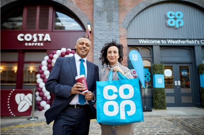 Co Op And Costa Coffee Shops Open On Coronation Street I