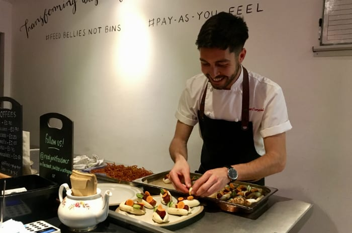 How a MasterChef star turned food waste into a feast fit for 45 hungry Mancs I Love Manchester