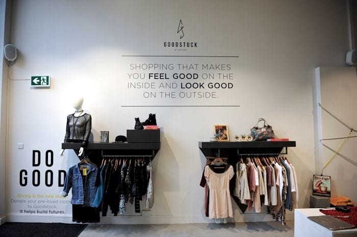 Find a new outfit and help local charities at Manchester's Empty Shop I Love Manchester